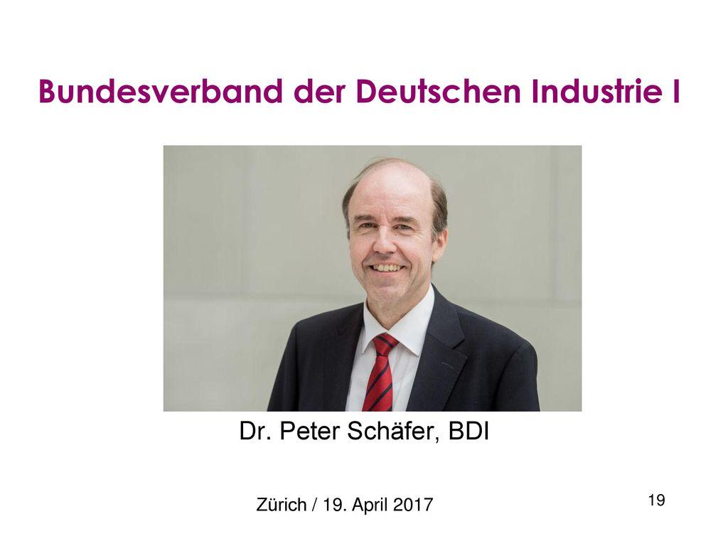 Bundesverband der Deutschen Industrie I