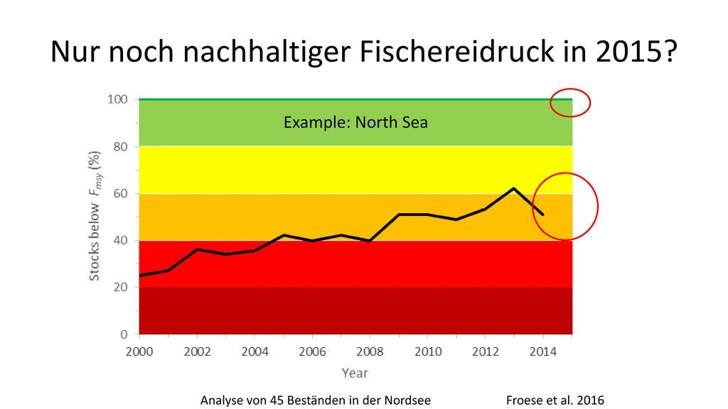 Nur noch nachhaltiger Fischereidruck in 2015