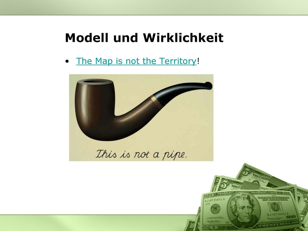 Modell und Wirklichkeit