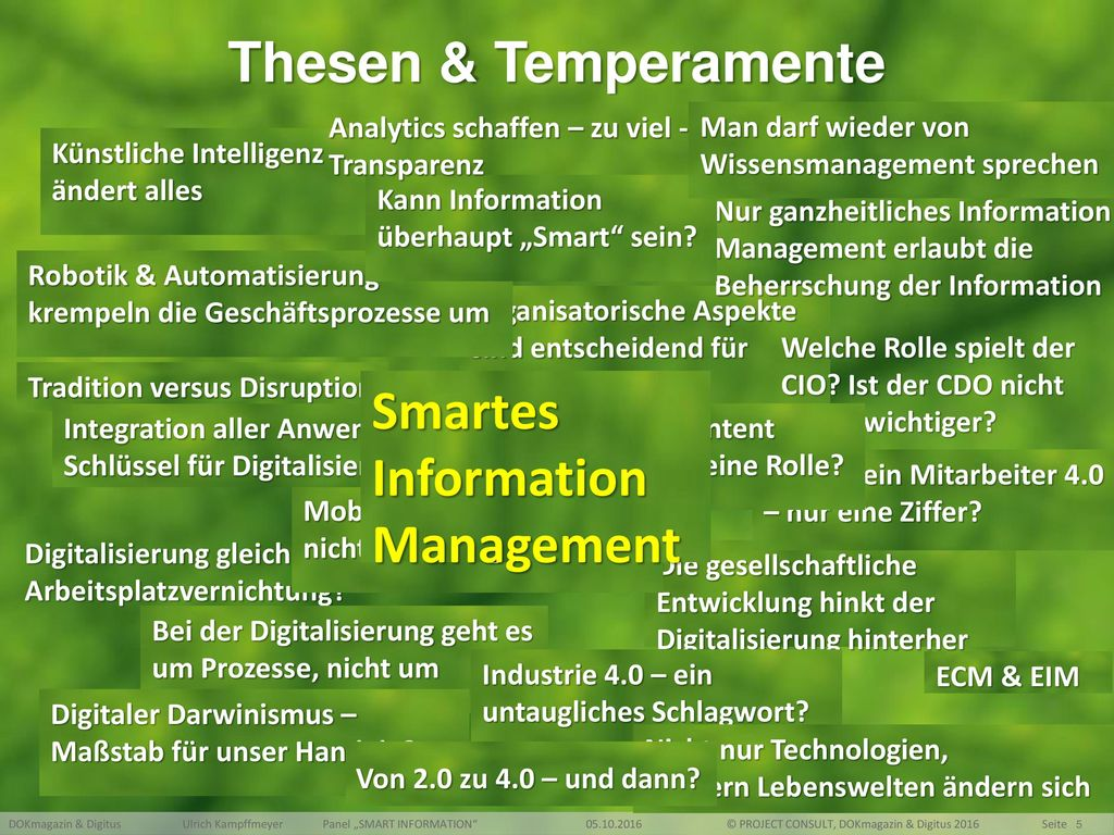 Smartes Information Management