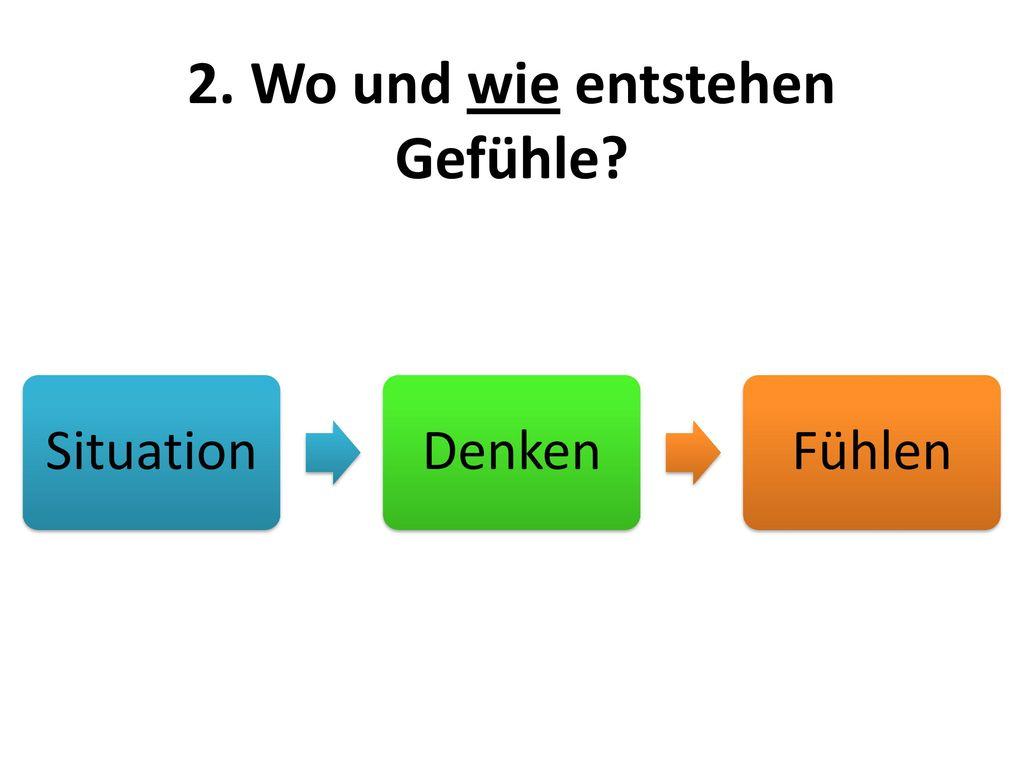 2. Wo und wie entstehen Gefühle