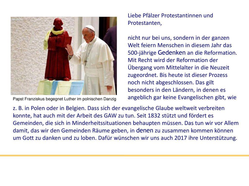 Liebe Pfälzer Protestantinnen und Protestanten,