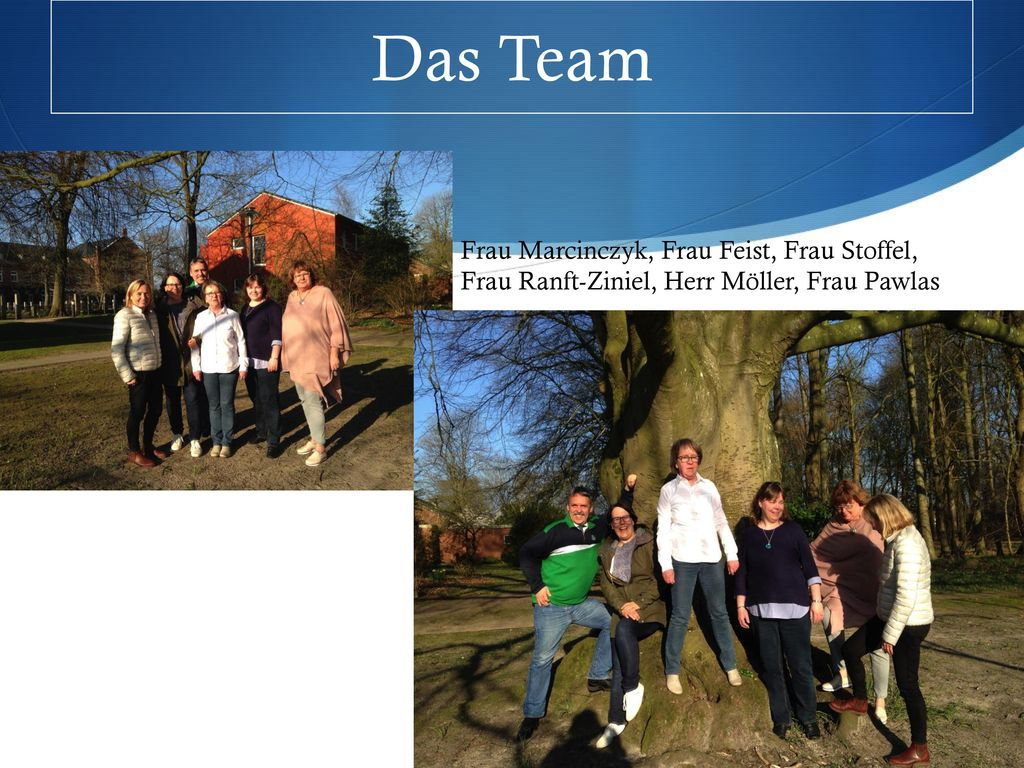 Das Team Frau Marcinczyk, Frau Feist, Frau Stoffel, Frau Ranft-Ziniel, Herr Möller, Frau Pawlas