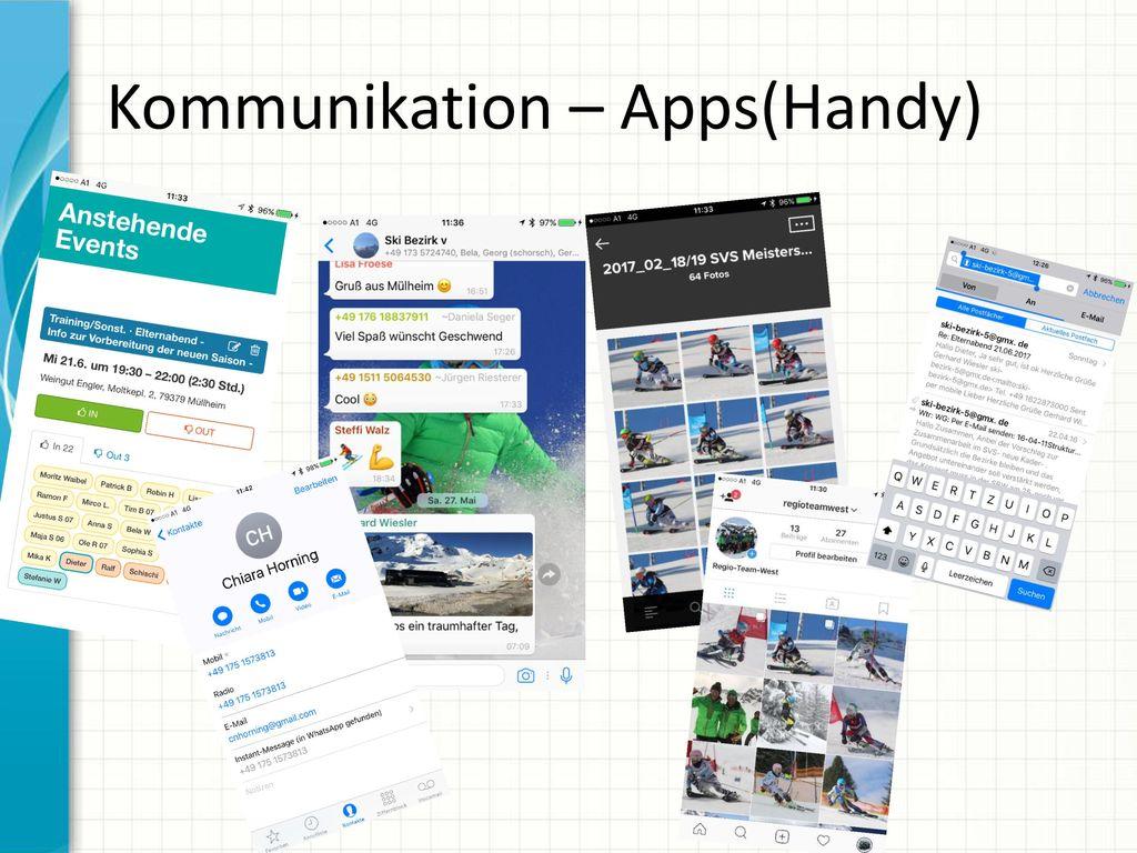 Kommunikation – Apps(Handy)