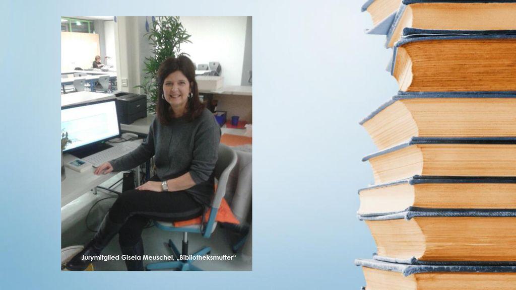 """Jurymitglied Gisela Meuschel, """"Bibliotheksmutter"""