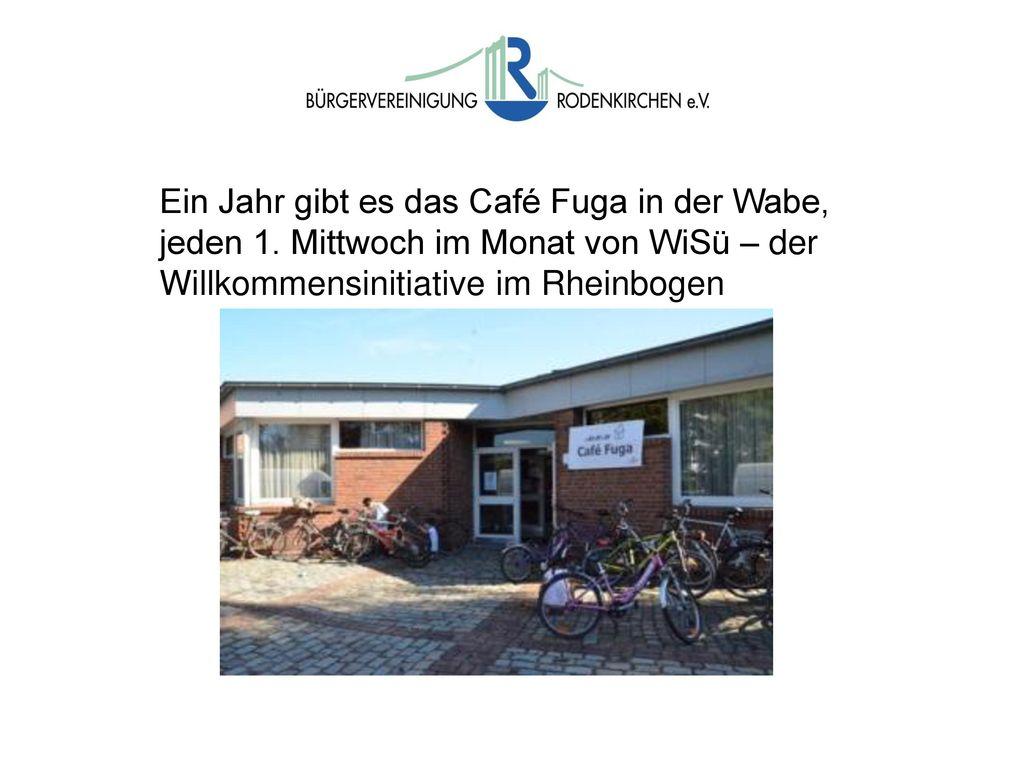 Ein Jahr gibt es das Café Fuga in der Wabe, jeden 1