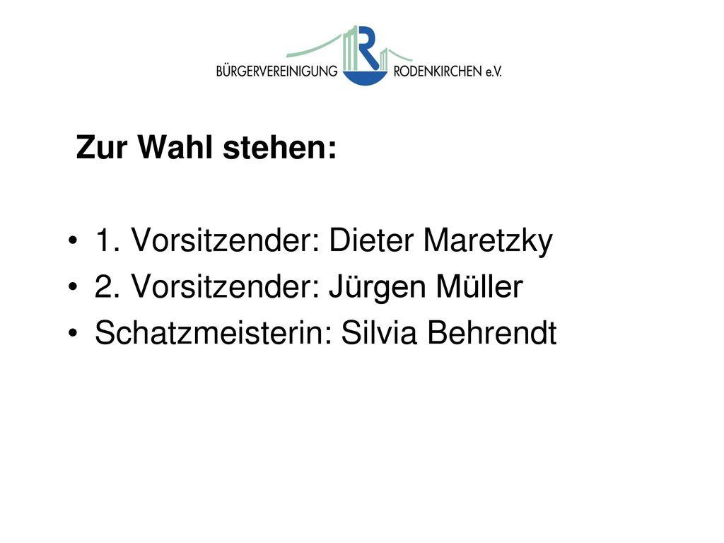 Wahlen TOP 7: Wahl des Vorstandes