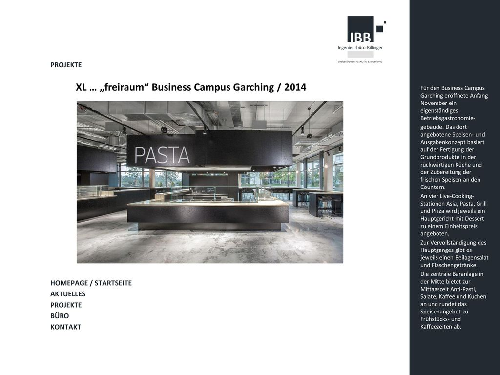"XL … ""freiraum Business Campus Garching / 2014"