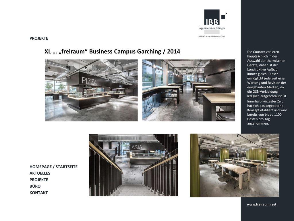 "XL … ""freiraum Business Campus Garching / 2014"