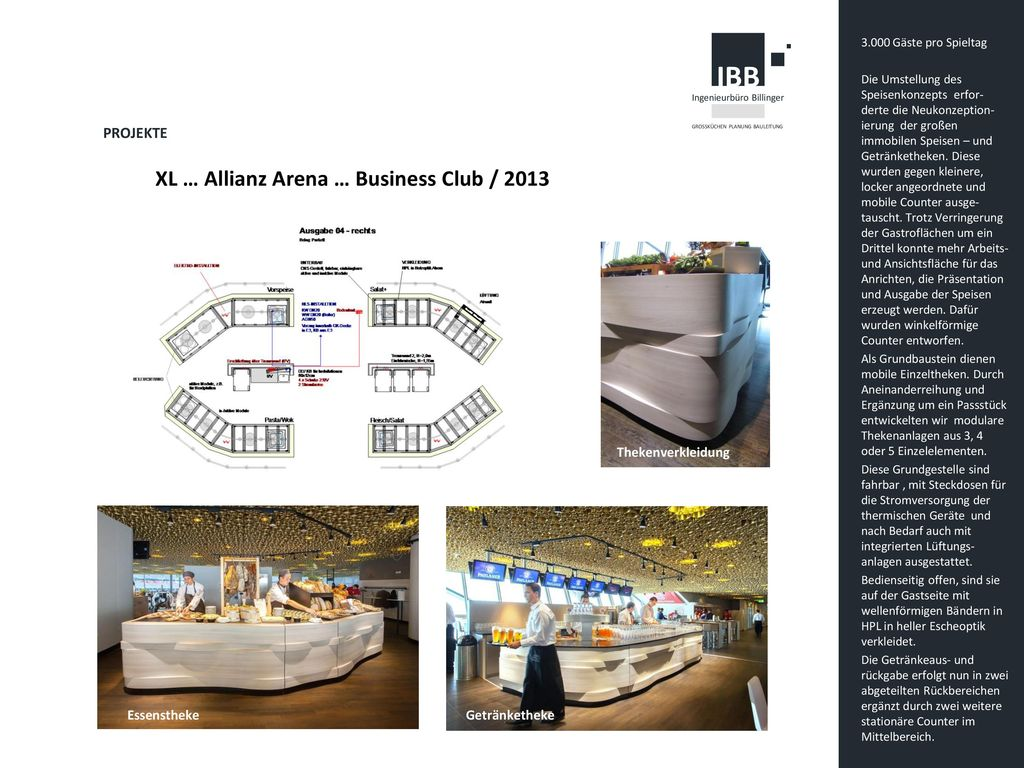 XL … Allianz Arena … Business Club / 2013