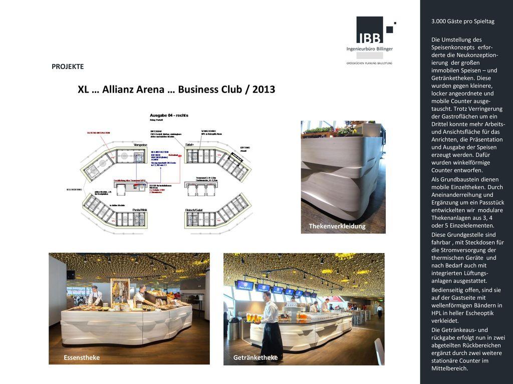 XL … Allianz Arena … Business Club / 2013