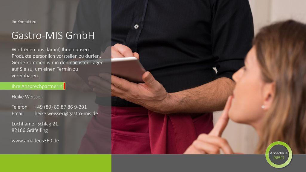 Ihr Kontakt zu Gastro-MIS GmbH.