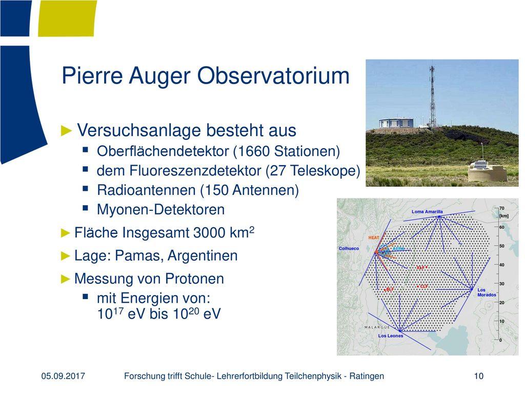 Pierre Auger Observatorium