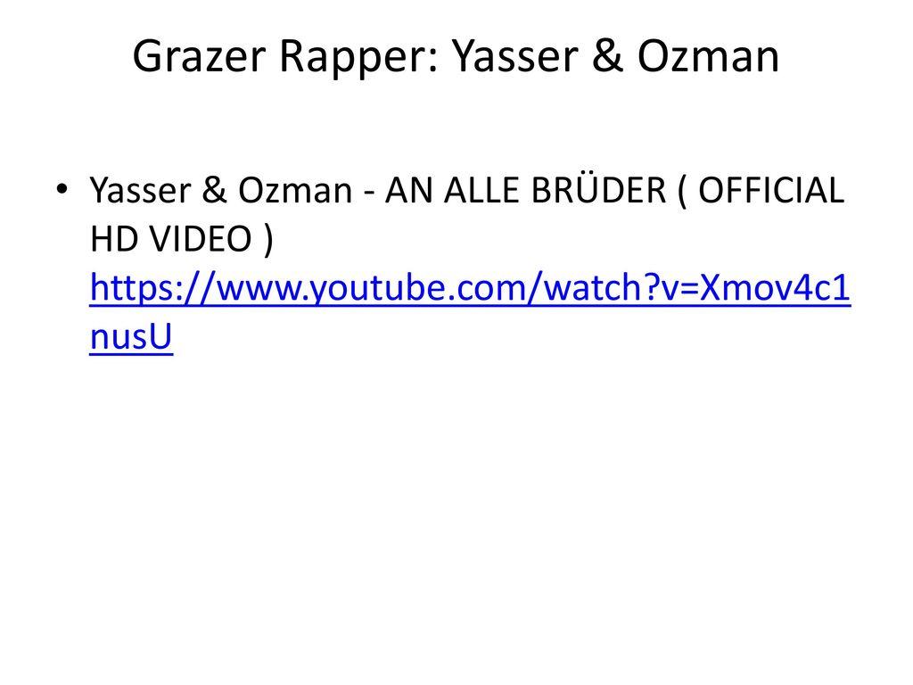 Grazer Rapper: Yasser & Ozman
