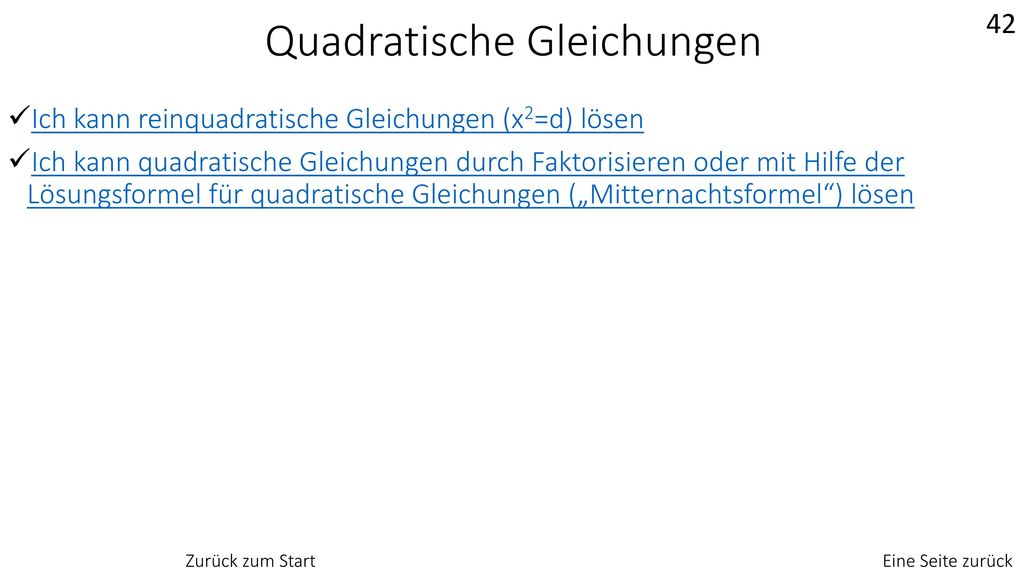 Schön Anwendungen Von Quadratischen Gleichungen Arbeitsblatt Bilder ...