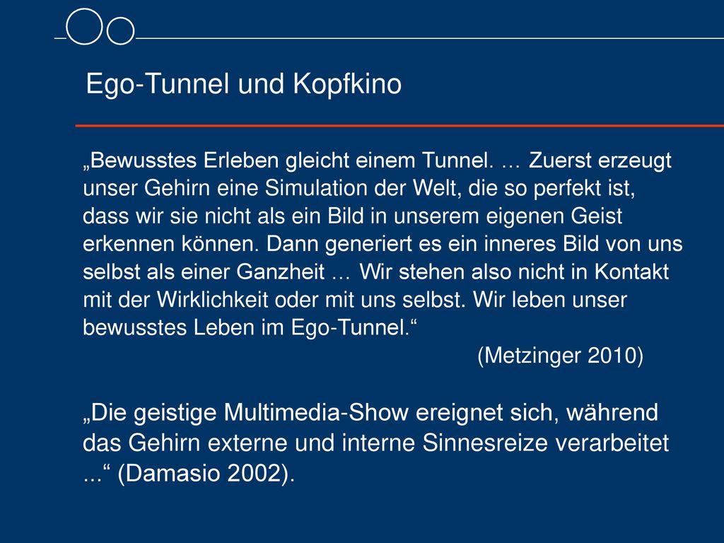 Ego-Tunnel und Kopfkino