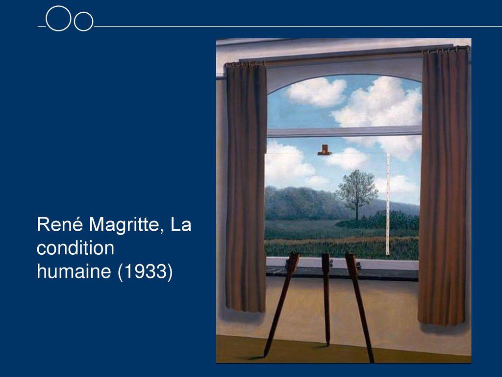 René Magritte, La condition humaine (1933)
