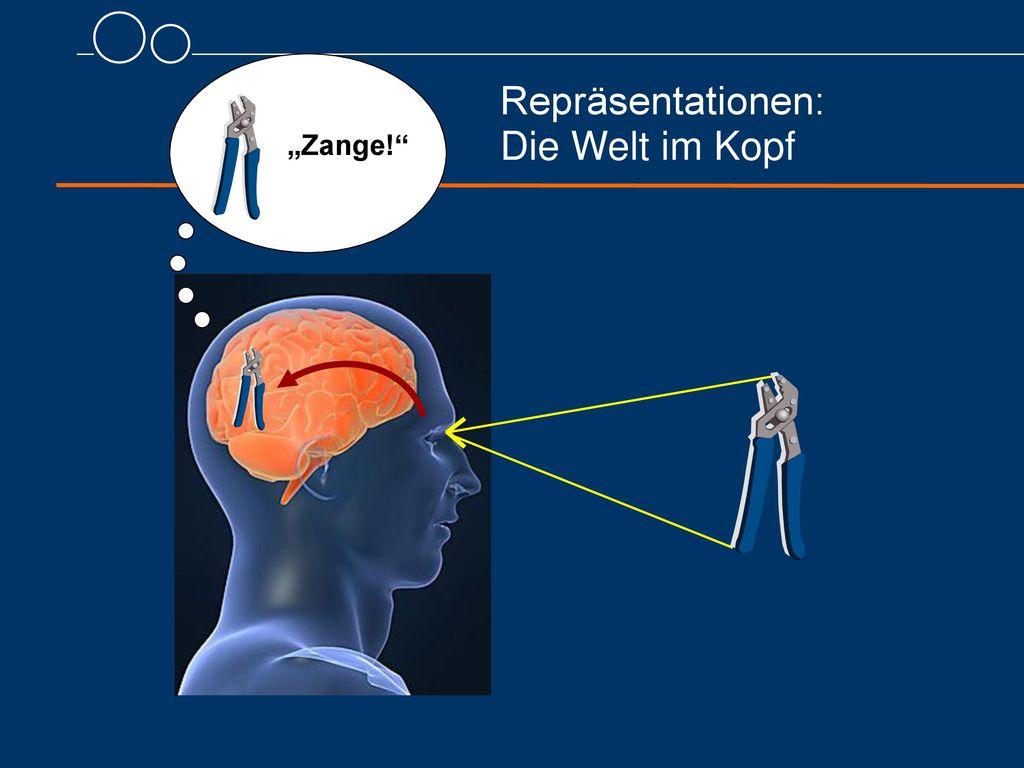 """Repräsentationen: Die Welt im Kopf """"Zange!"""