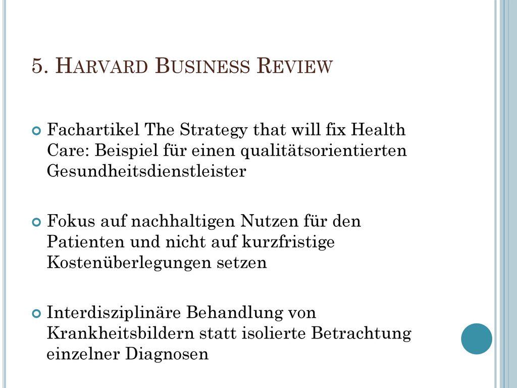 5. Harvard Business Review