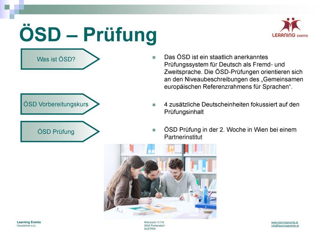 ÖSD Vorbereitungskurs