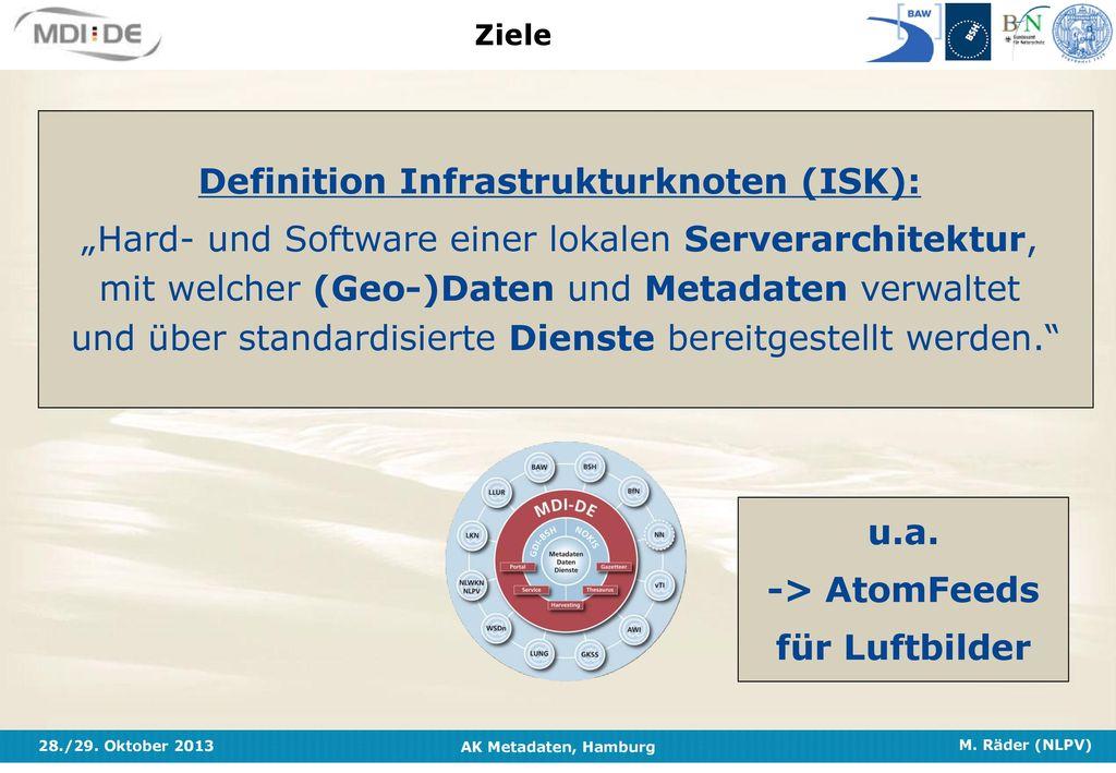 Definition Infrastrukturknoten (ISK):