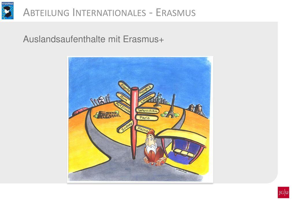 Abteilung Internationales - Erasmus