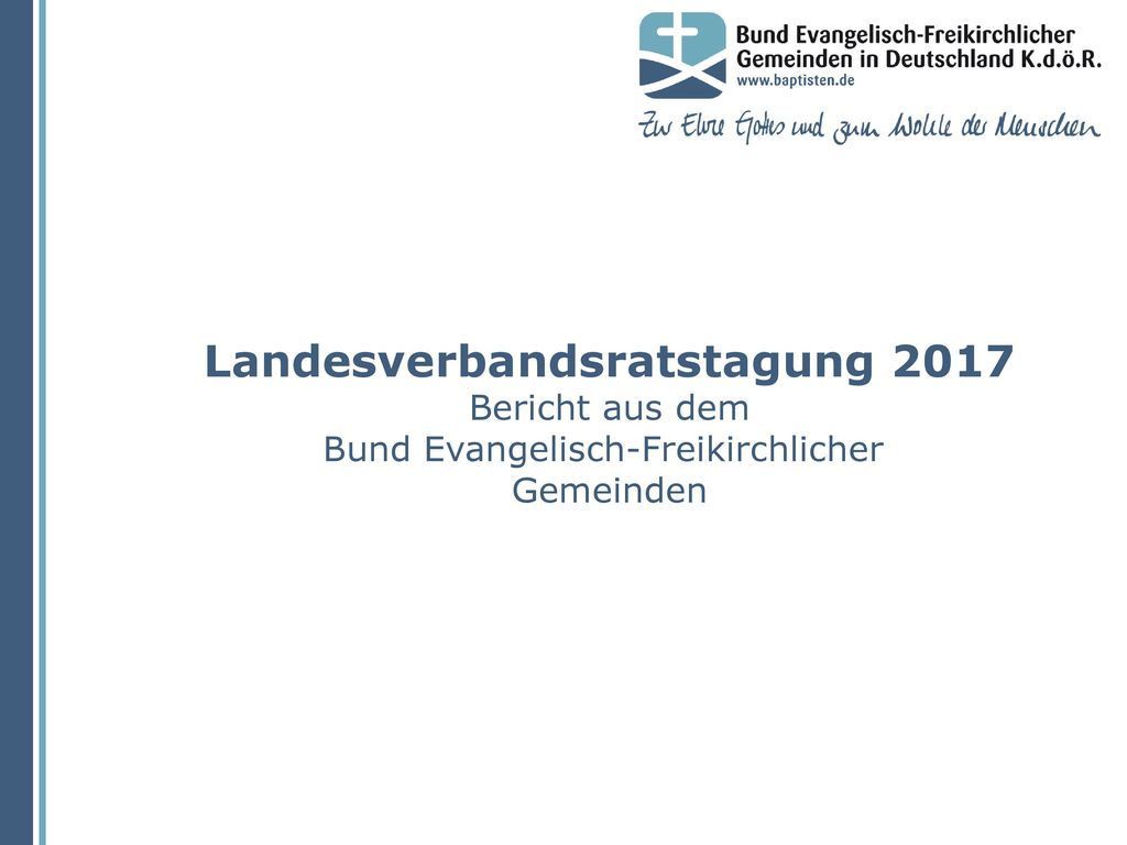 Landesverbandsratstagung 2017