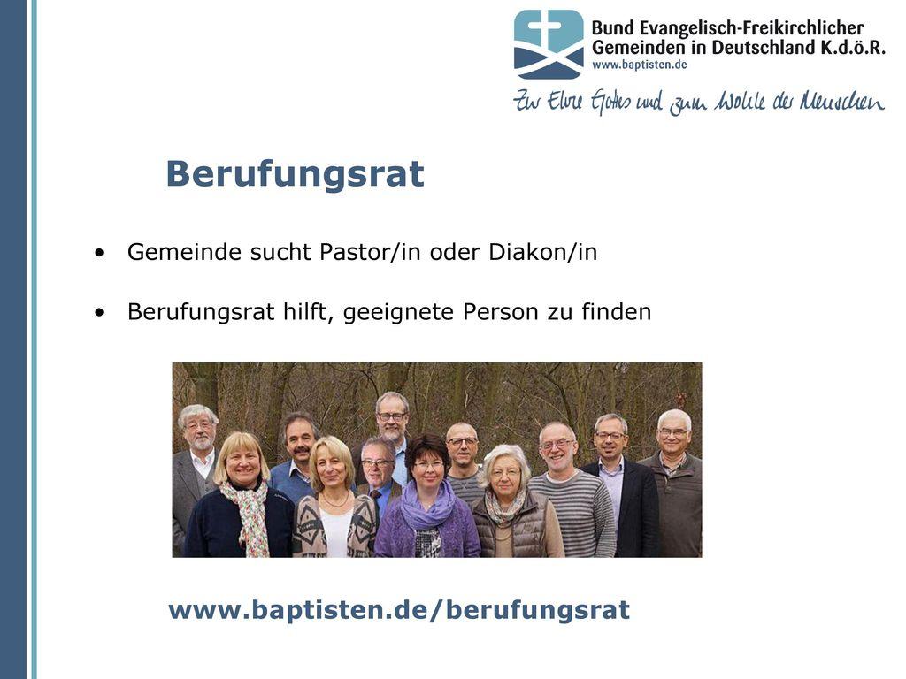 Berufungsrat www.baptisten.de/berufungsrat