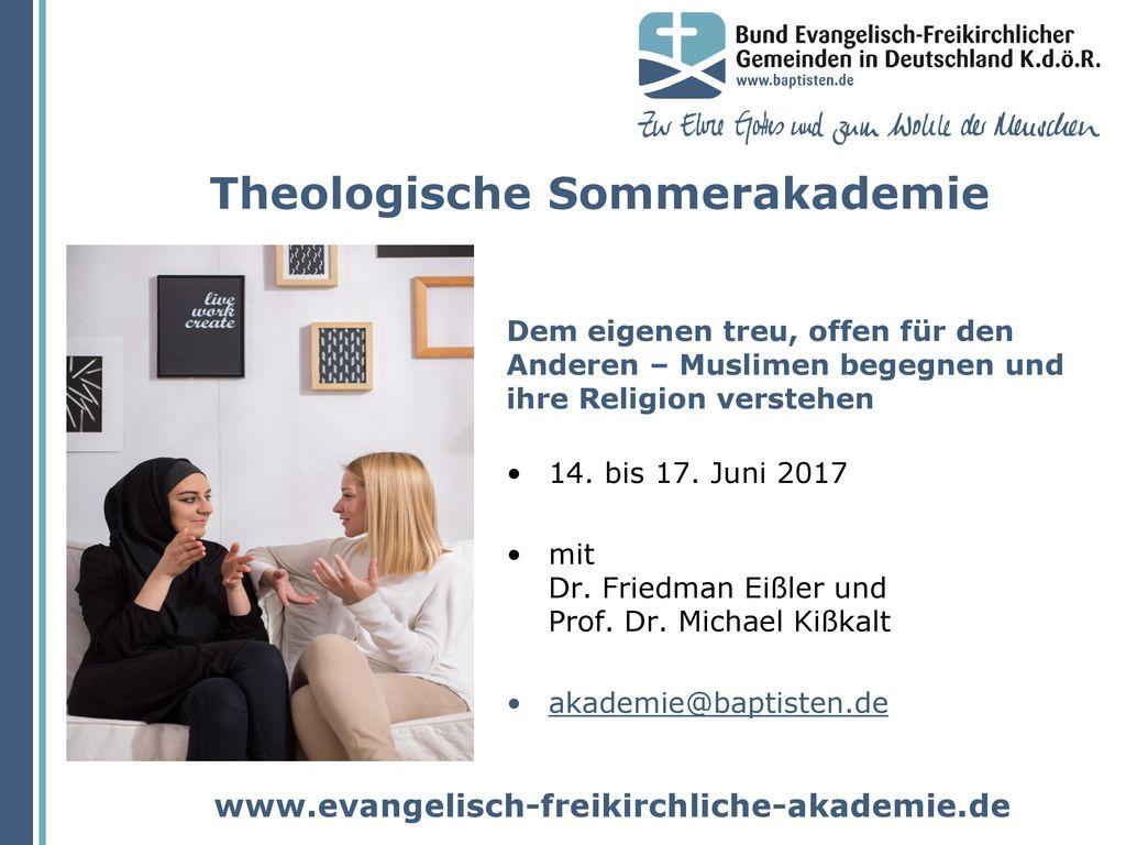 Theologische Sommerakademie
