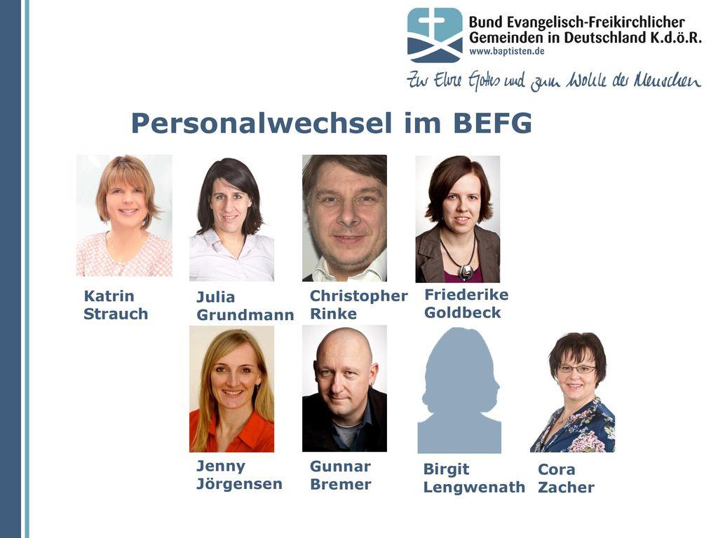 Personalwechsel im BEFG