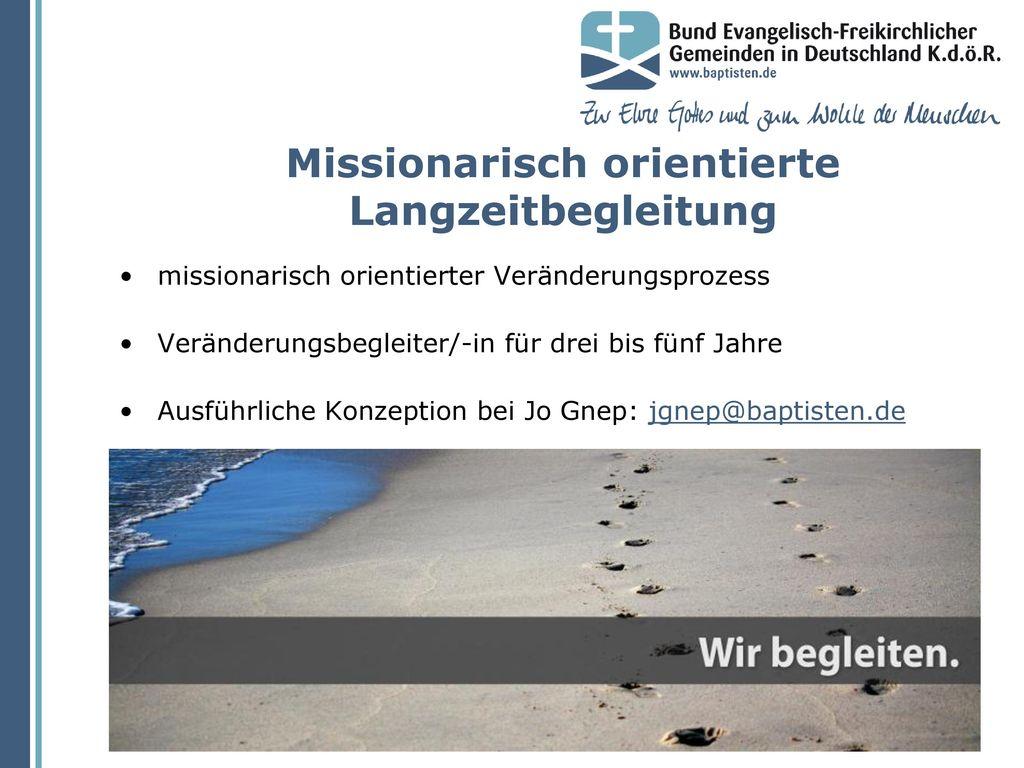 Missionarisch orientierte Langzeitbegleitung
