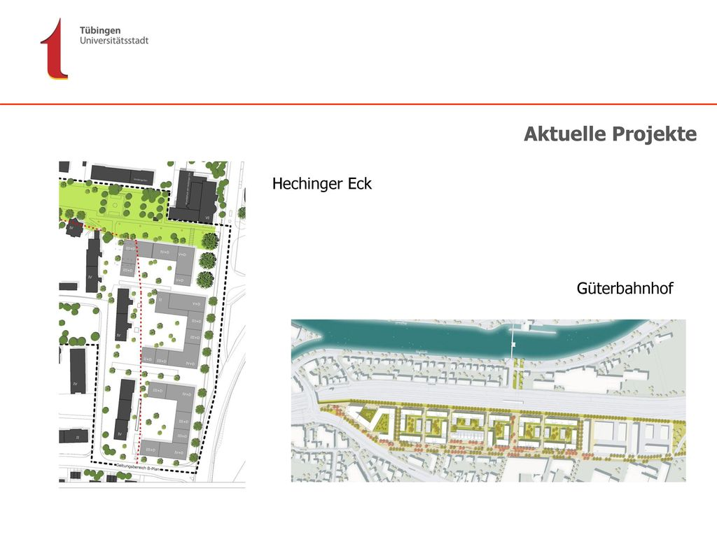 Aktuelle Projekte Hechinger Eck Güterbahnhof