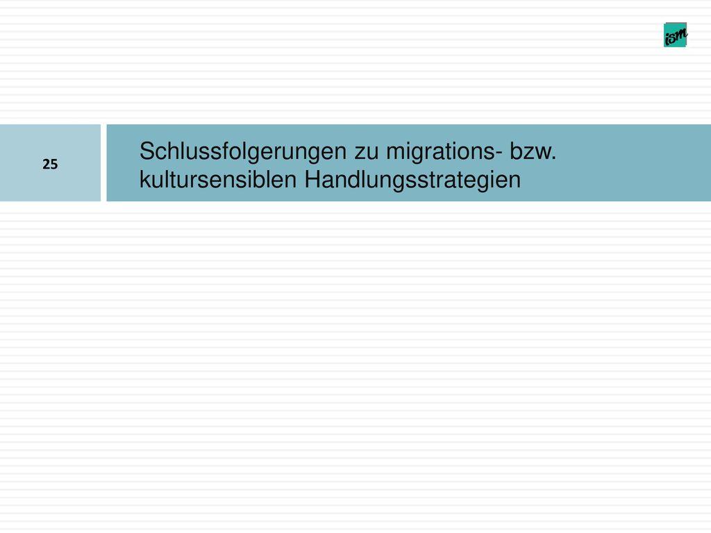 Schlussfolgerungen zu migrations- bzw