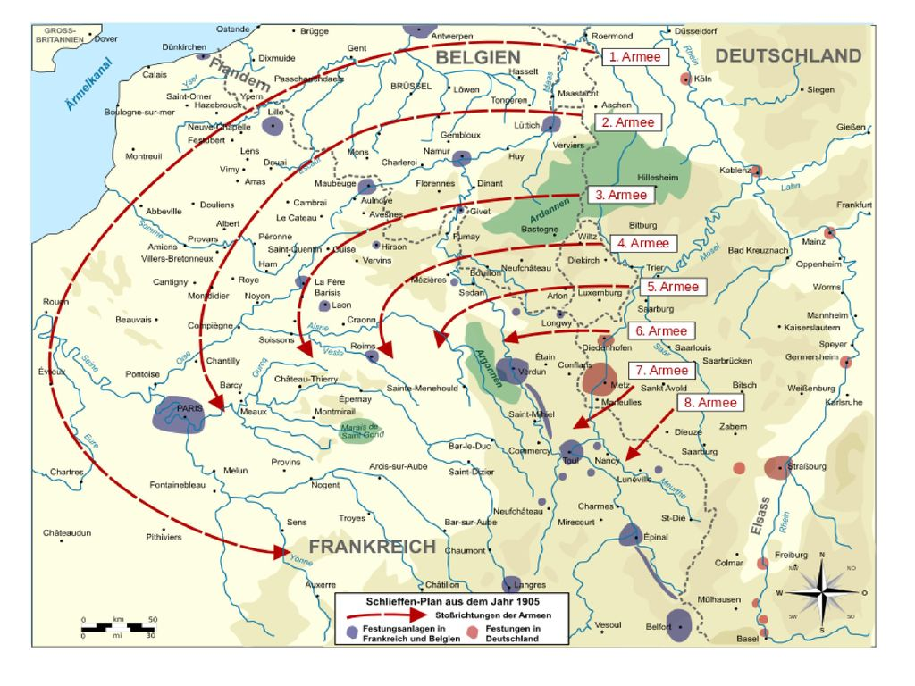 Schlieffenplan 1905