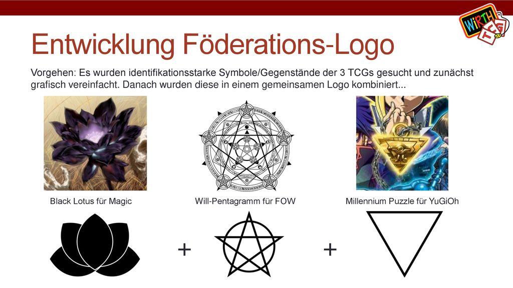 Entwicklung Föderations-Logo