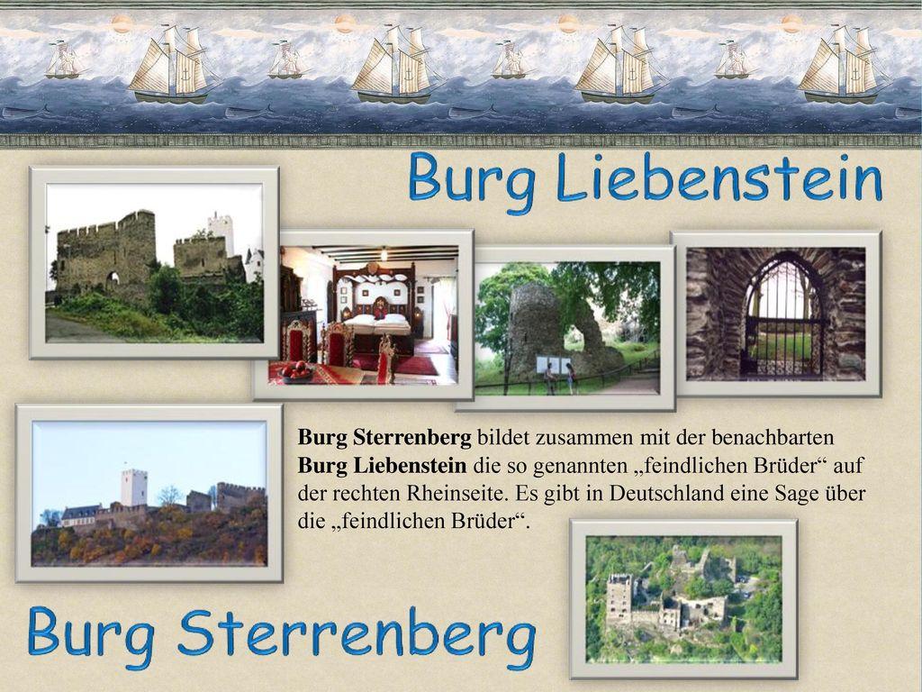 Burg Sterrenberg bildet zusammen mit der benachbarten
