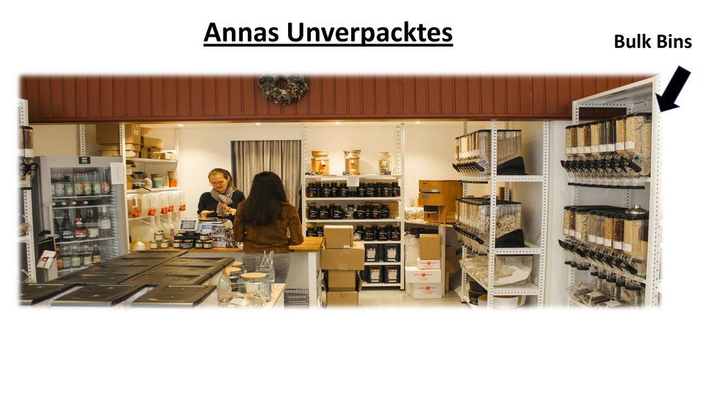 Annas Unverpacktes Bulk Bins