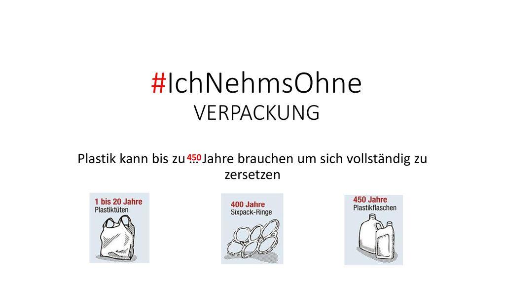 #IchNehmsOhne VERPACKUNG