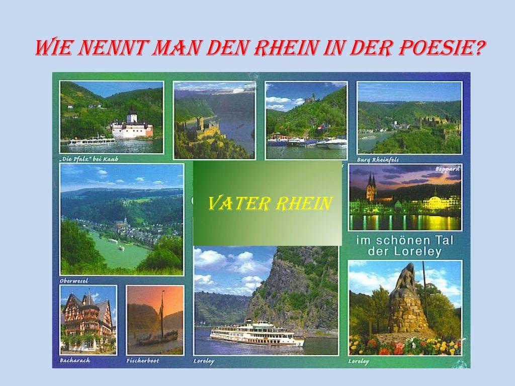 Wie nennt man den Rhein in der Poesie