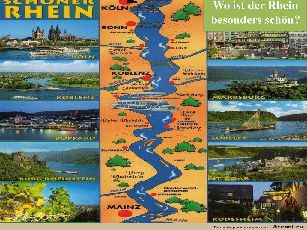 Wo ist der Rhein besonders schön
