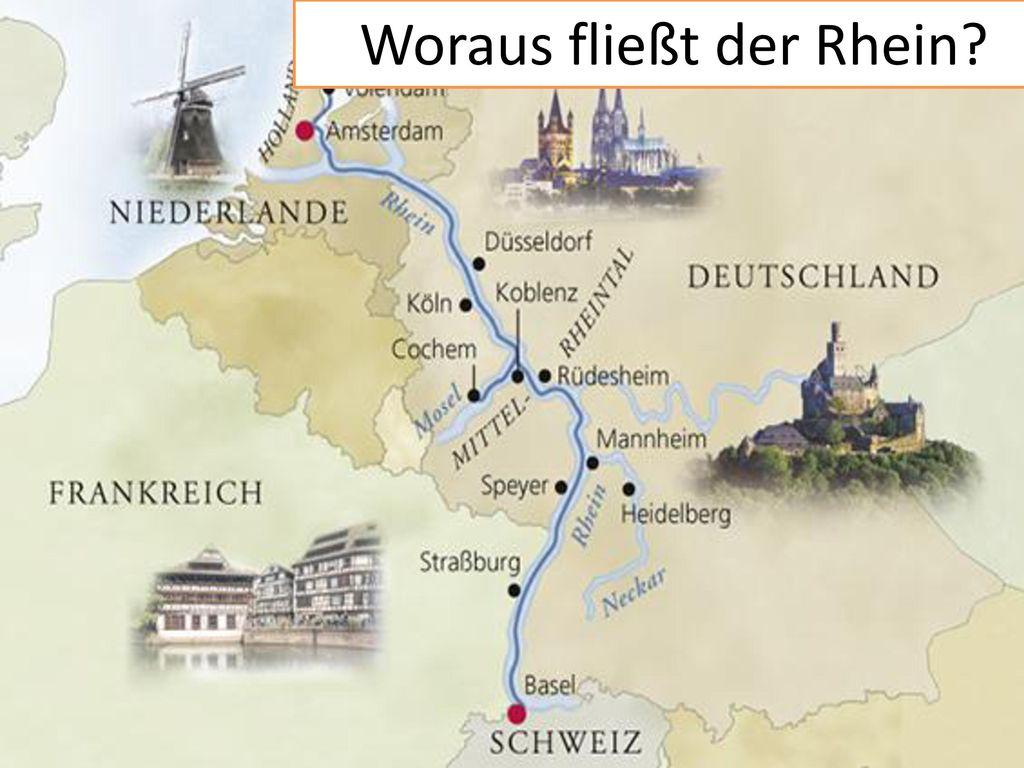 Woraus fließt der Rhein