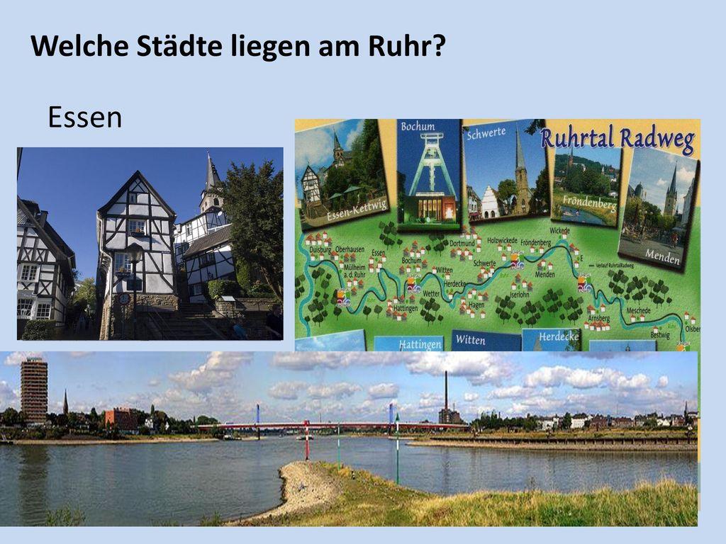 Welche Städte liegen am Ruhr