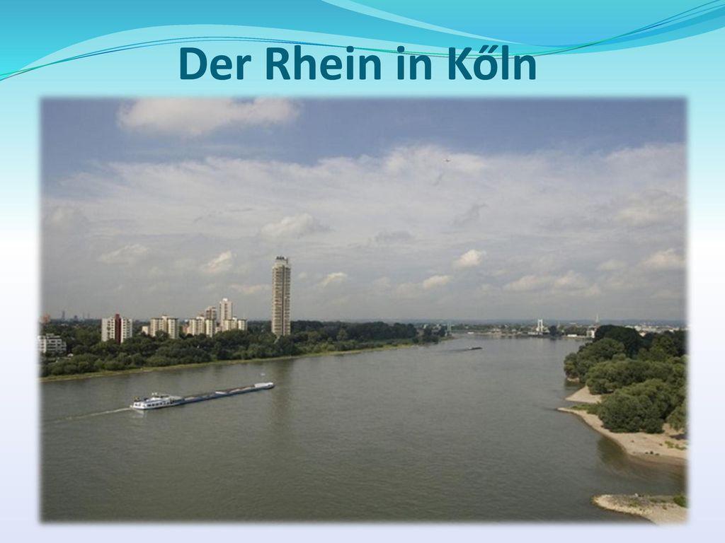 Der Rhein in Kőln