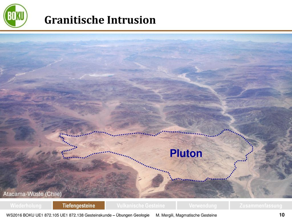 Granitische Intrusion