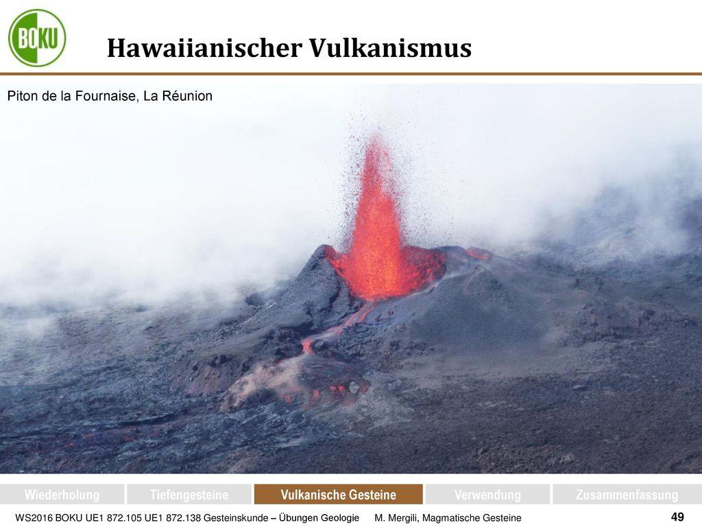Hawaiianischer Vulkanismus