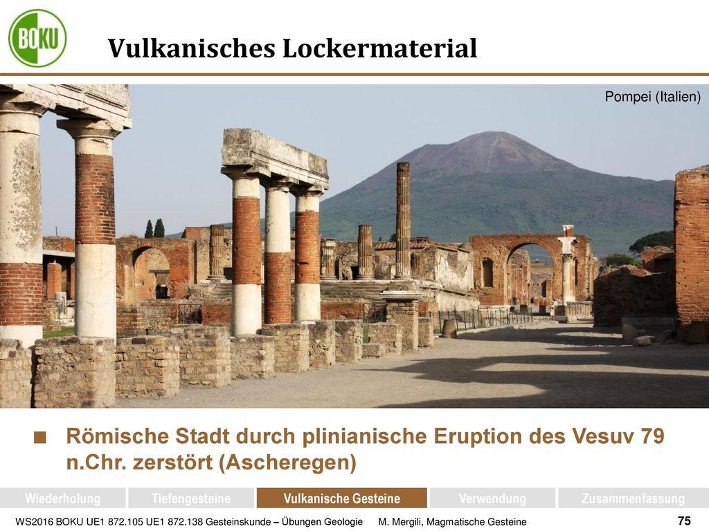 Vulkanisches Lockermaterial