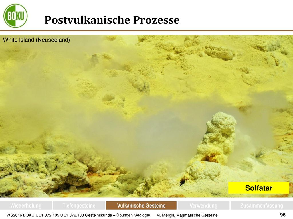 Postvulkanische Prozesse