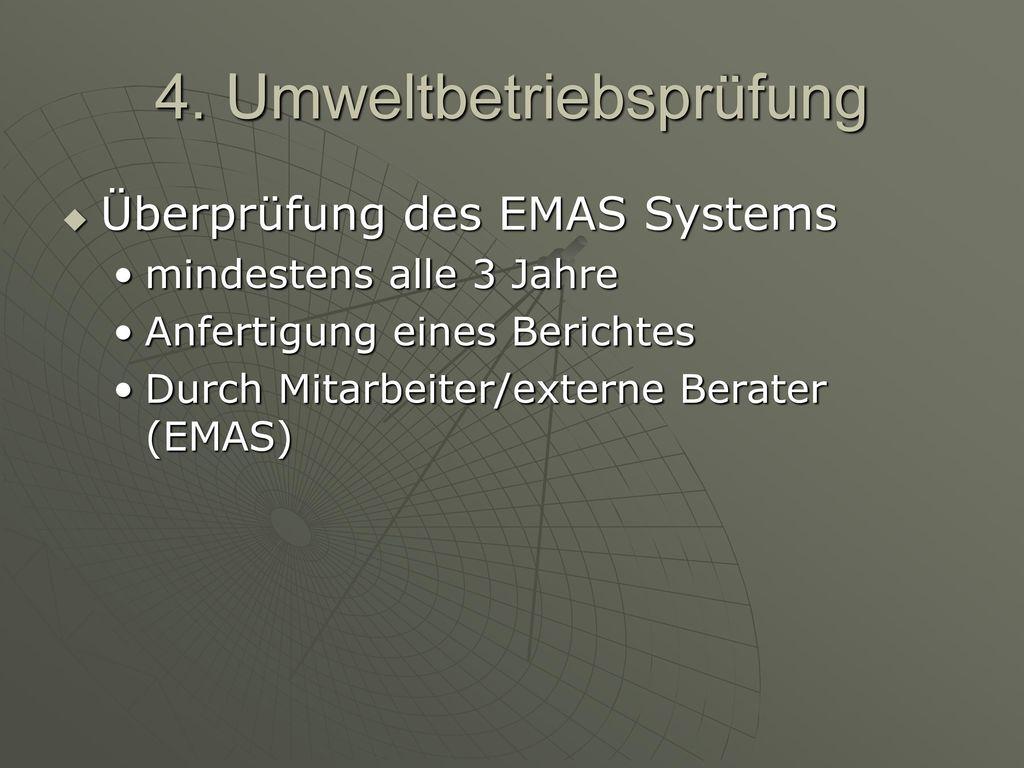 4. Umweltbetriebsprüfung