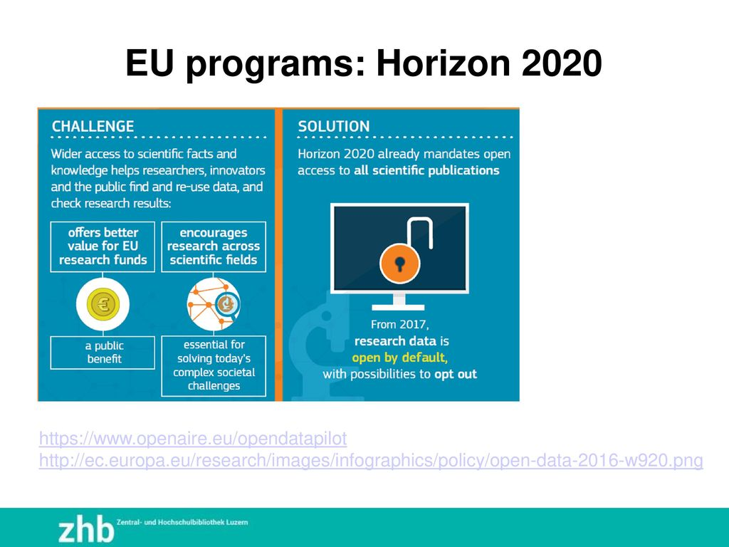 EU programs: Horizon