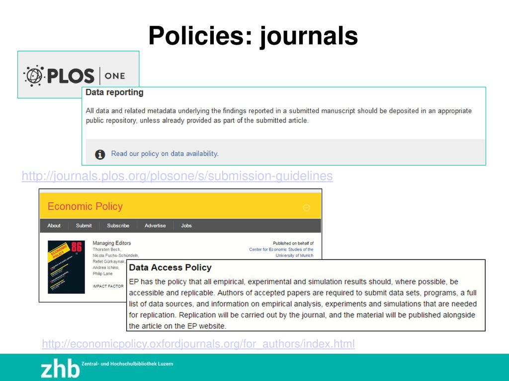 Policies: journals http://journals.plos.org/plosone/s/submission-guidelines.